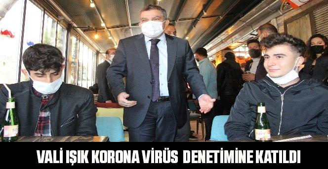 Karaman'da korona virüs denetimi