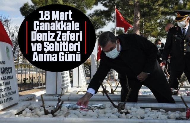 Karaman'da 18 Mart Çanakkale Deniz Zaferi ve Şehitleri Anma Günü