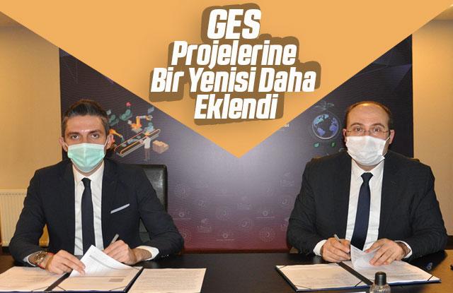 GES Projelerine Bir Yenisi Daha Eklendi