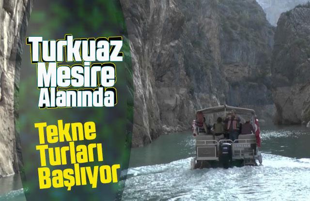 Turkuaz Mesı̇re Alanında Tekne Turlarına Başlıyor