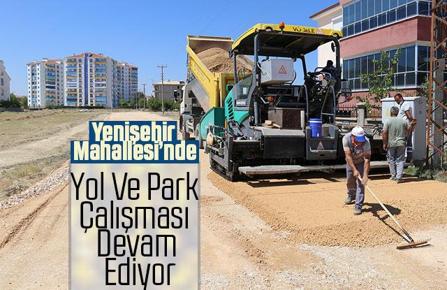 Yenişehir Mahallesi'nde Yol Ve Park Çalışması