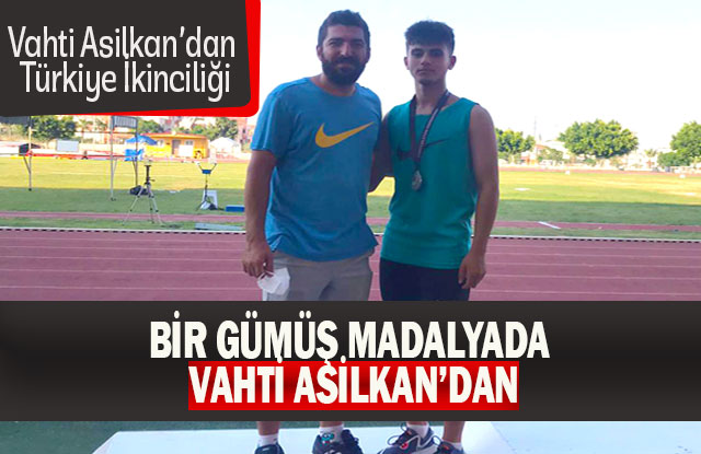 Vahti Asilkan'dan Türkiye İkinciliği
