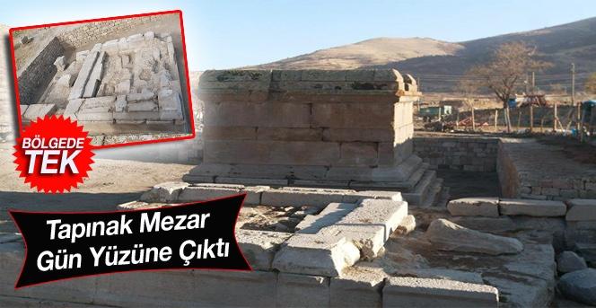 Tapınak Mezar Gün Yüzüne Çıktı