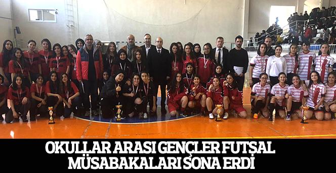 Okullar Arası Gençler Futsal Müsabakaları Sona Erdi