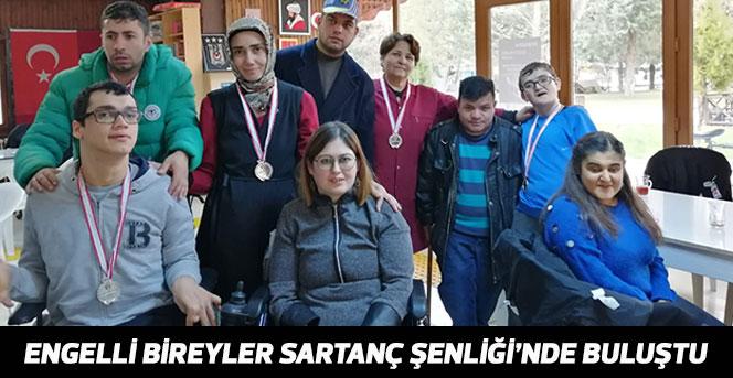 Engelli Bireyler Sartanç Şenliği'nde Buluştu