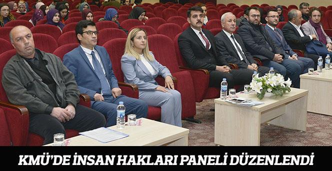 KMÜ'de İnsan Hakları Paneli