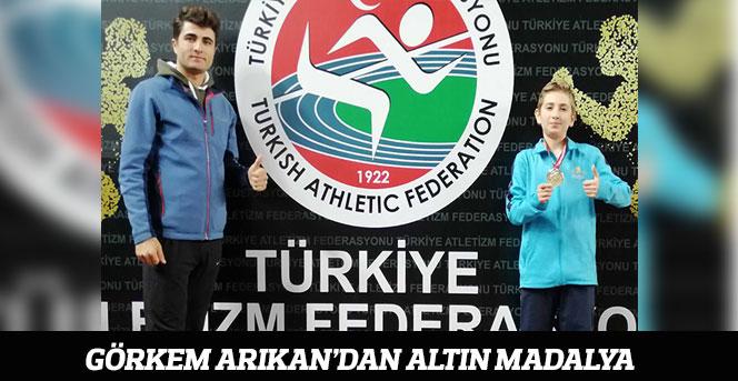 Karamanlı Atlet Görkem Arıkan Türkiye Şampiyonu Oldu