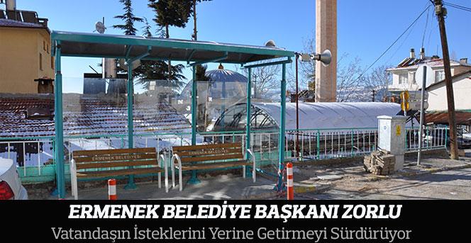 Ermenek Belediyesi Vatandaşın İsteklerini Yerine Getiriyor