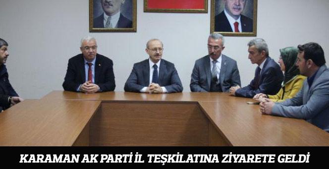 MKYK Üyesi Ahmet Sorgun Karamanda!