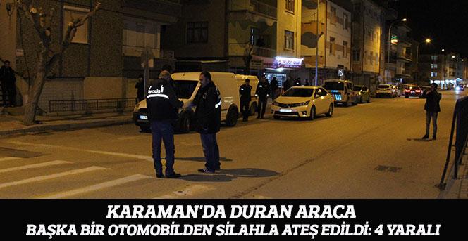 Otomobile Silahlı Saldırı 4 Yaralı