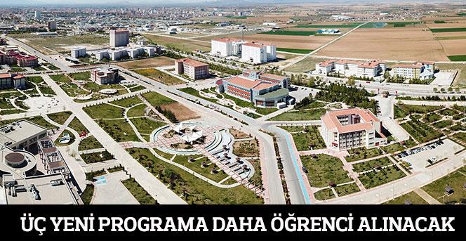 KMÜ'nün Üç Yeni Programına Yeni Öğrenci Alınacak
