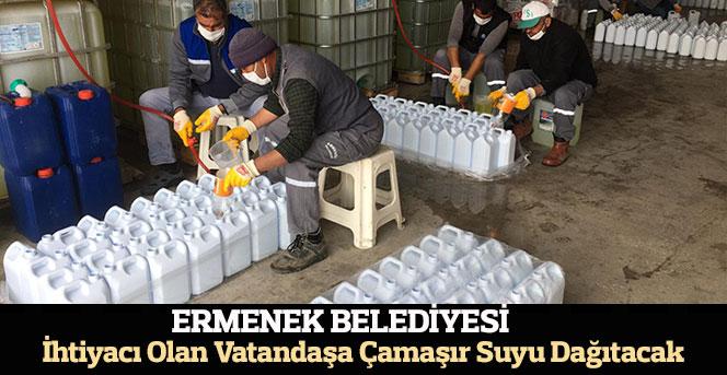 Ermenek Belediyesi İhtiyacı Olan Vatandaşa Çamaşır Suyu Dağıtacak