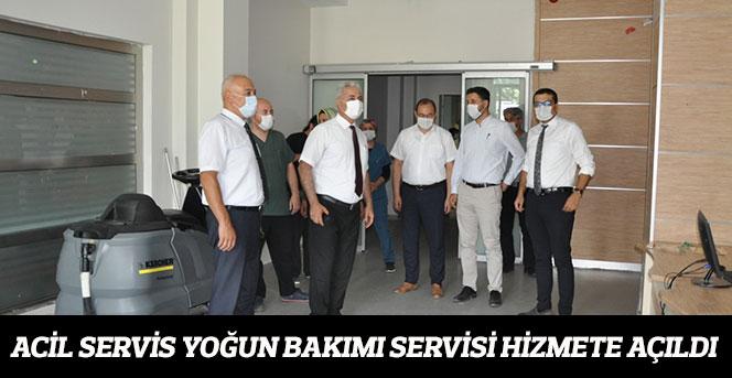Acil Servis Yoğun Bakımı Servisi Hizmete Açıldı