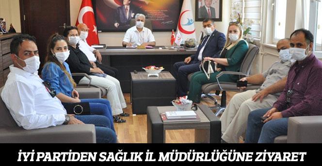 İYİ Partiden Sağlık İl Müdürlüğüne ziyaret