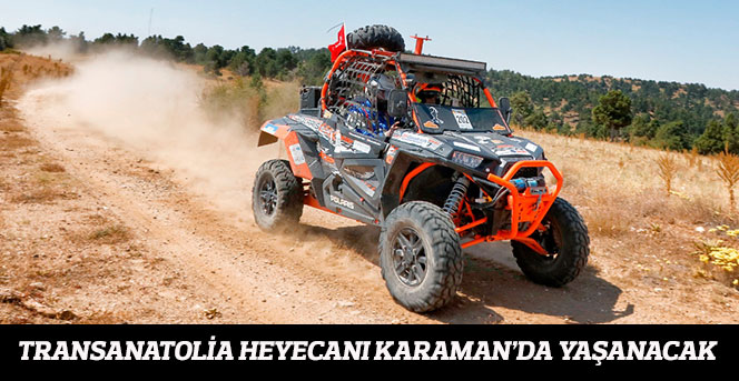 Transanatolia Heyecanı Karaman'da Yaşanacak