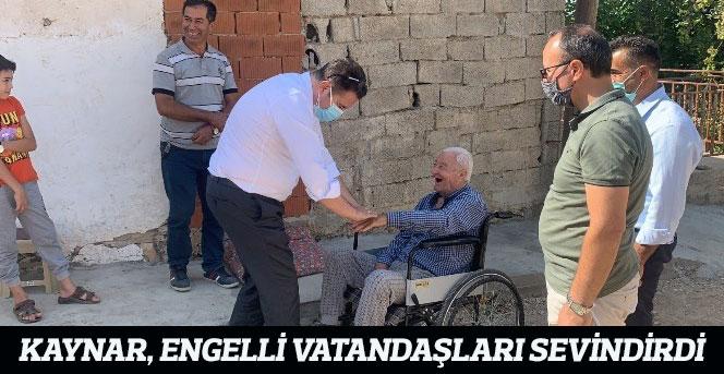 Kaynar, Engelli Vatandaşları Sevindirdi