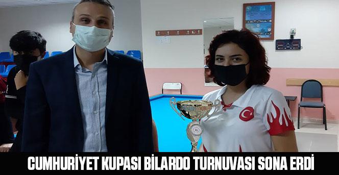 Cumhuriyet Kupası Bilardo Turnuvası Sona Erdi