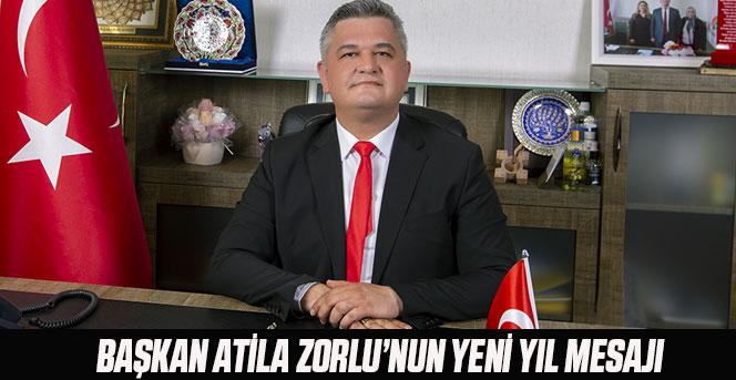 Başkan Atila Zorlu'nun Yeni Yıl Mesajı