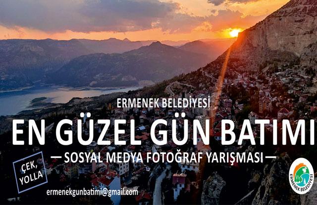Ermenek Belediyesi'nden 'En Güzel Gün Batımı' Fotoğraf Yarışması