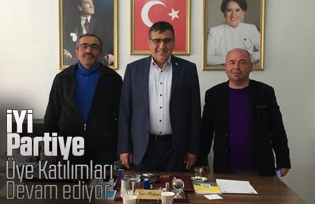 İYİ Partiye Üye Katılımları Devam ediyor
