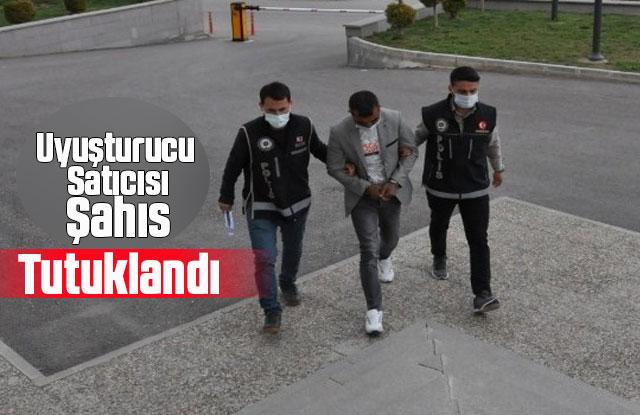 Karaman'da uyuşturucu satıcısı şahıs tutuklandı