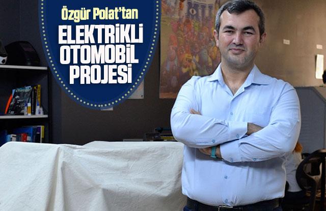 KMÜ'lü Akademisyenden Elektrikli Otomobil Projesi