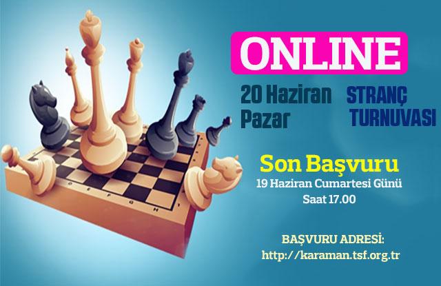 Online Satranç Turnuvası Düzenlenecek