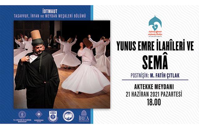 Postnişin M. Fatih Çıtlak, Dev Orkestra İle Karaman'a Geliyor
