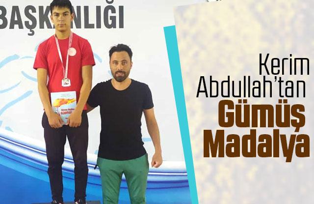 Kerim Abdullah'tan Gümüş Madalya